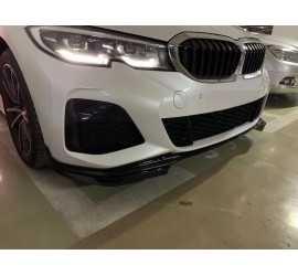 DIFFUSOR SATZ KOMPATIBEL MIT BMW 3 G20 M PAKET GLAZ SCHWARZ