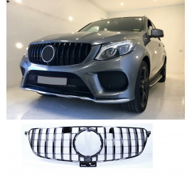 GRILL COMPATIBLE WITH MERCEDES-BENZ GLE W166 BLACK