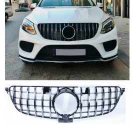 GRILL COMPATIBLE WITH MERCEDES-BENZ GLE W166 CHROME