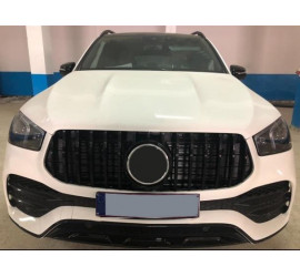 GRILL COMPATIBLE WITH MERCEDES-BENZ GLE W167 BLACK 2019+