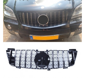 GRILL COMPATIBEL MET MERCEDES-BENZ W164 ML CHROME 2005-2008