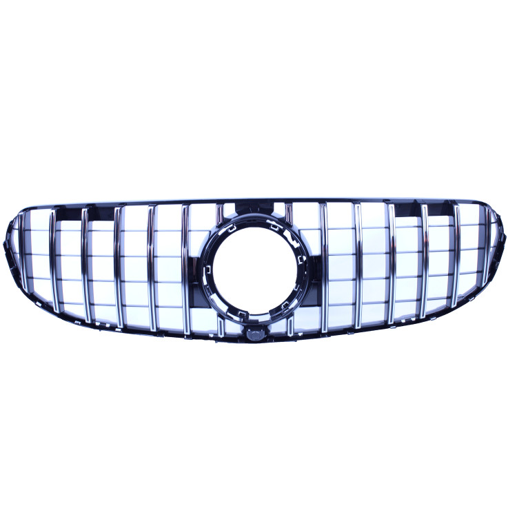 FRONT GRILL COMPATIBLE WITH MERCEDES-BENZ GLC - GLC COUPE CHROME FACELIFT