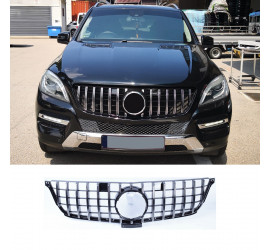 GRILL COMPATIBLE WITH MERCEDES-BENZ W166 ML CHROME