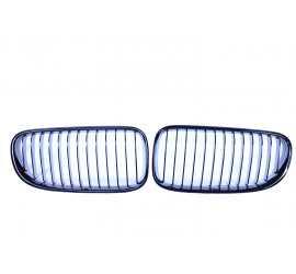 GRILL NIEREN COMPATIBEL MET BMW 3 SERIE COUPE/CABRIO F92 - E93 GLANZEND ZWART ENKELE SPIJLEN