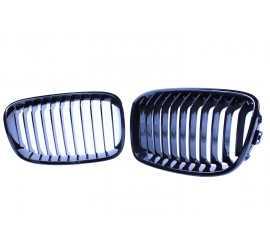 GRILL KIDNEYS KOMPATYBILNY Z BMW SERII 1 F20 - F21 GLOSSY BLACK SINGLE BARS