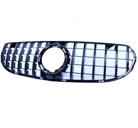 FRONT GRILL GLOSSY BLACK COMPATIBLE WITH MERCEDES-BENZ GLC - GLC COUPE FACELIFT