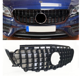 FRONT GRILL BLACK SPORT COMPATIBLE WITH MERCEDES-BENZ E W213 S213 A238 C238