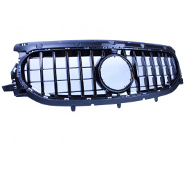 GRILL GLOSSY BLACK WITH FRONT CAMERA COMPATIBLE WITH MERCEDES-BENZ GLA X157 2020