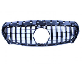 GRILL COMPATIBLE WITH MERCEDES-BENZ W117 CLA CLASS BLACK