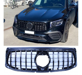 GRILL GLOSS BLACK COMPATIBLE WITH MERCEDES-BENZ GLB X247 (2020) SPORT