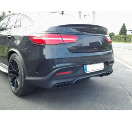 DIFFUSER COMPATIBLE WITH MERCEDES GLE COUPE C292 AMG LINE PACKAGE