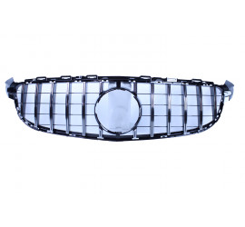 GRILL CHROME COMPATIBLE WITH MERCEDES-BENZ C 63 AMG (S) W205