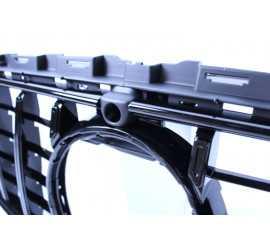 GRILL GLANZEND ZWART MET FRONTCAMERA COMPATIBEL MET MERCEDES E W213 S213 A238 C238 FACELIFT MET AMG LINE PAKKET