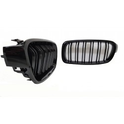 GRILL KIDNEYS COMPATIBLE WITH BMW 3 SERIES F30 - F31 GLOSSY BLACK