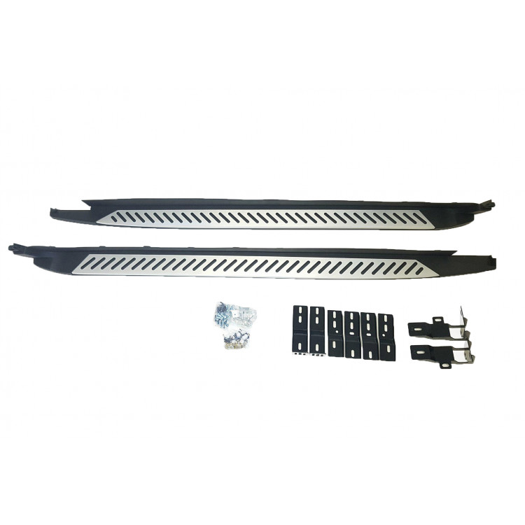 SIDE STEPS COMPATIBLE WITH BMW X4 F26