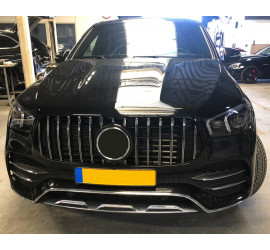 GRILL COMPATIBLE WITH MERCEDES-BENZ GLE W167 SUV / GLE COUPE C167 CHROME 2019+
