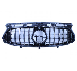 GRILL COMPATIBLE WITH MERCEDES-BENZ GLA H247 2020 CHROME AMG LINE PACKAGE FRONT CAMERA