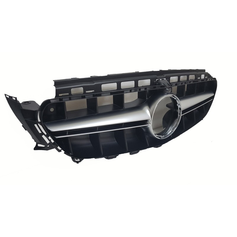 FRONT GRILL GREY COMPATIBLE WITH MERCEDES-BENZ E W213 S213 A238 C238