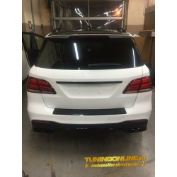 BODYKIT COMPATIBLE WITH MERCEDES-BENZ GLE SUV W166 (GLOSSY BLACK PARTS)