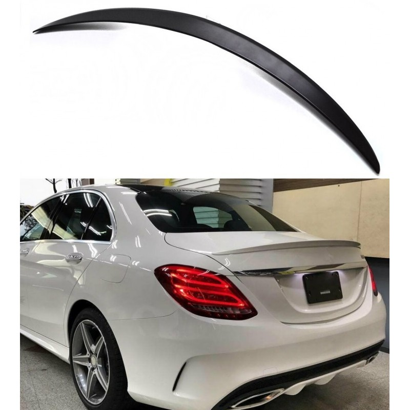 TRUNK SPOILER COMPATIBLE WITH MERCEDES-BENZ C-CLASS W205 SEDAN