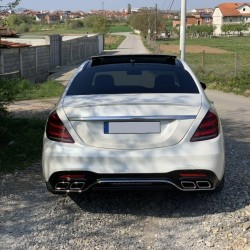 BODYKIT COMPATIBLE WITH MERCEDES-BENZ W222 FACELIFT