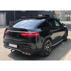 TRUNK SPOILER BLACK METALLIC COMPATIBLE WITH MERCEDES-BENZ GLE COUPE C292