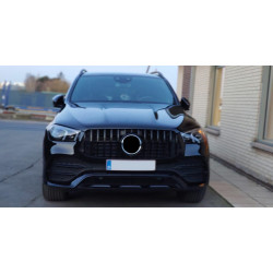 FRONT GRILL COMPATIBLE WITH MERCEDES-BENZ GLE W167 BLACK 2019+