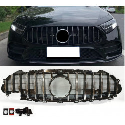 FRONT GRILL COMPATIBLE WITH MERCEDES-BENZ CLS C257 CHROME