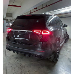 SIDE STEPS RUNNING BOARDS COMPATIBLE WITH MERCEDES-BENZ W167 GLE