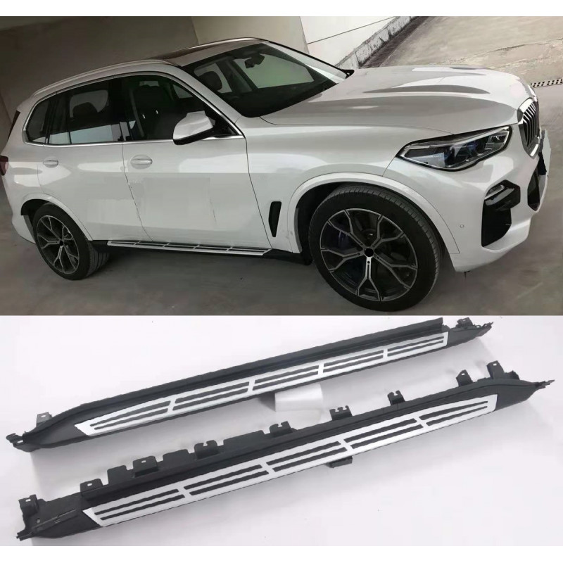 SIDE STEPS RUNNING BOARDS COMPATIBLE WITH BMW G05 X5