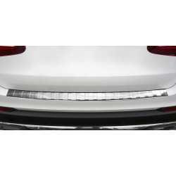 BUMPERBESCHERMER RVS COMPATIBEL MET MERCEDES-BENZ GLC X253 SUV