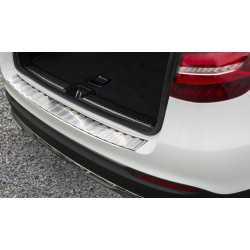 PROTECTION DE SEUIL DE COFFRE CHARGEMENT ACIER INOXYDABLE COMPATIBLE AVEC MERCEDES-BENZ GLC X253 SUV