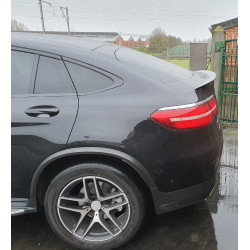 TRUNK SPOILER COMPATIBLE WITH MERCEDES-BENZ GLC C253 COUPE GLOSS BLACK