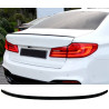 TRUNK SPOILER COMPATIBLE WITH BMW 5 SERIES G30 GLOSS BLACK