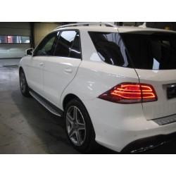 SIDE STEPS RUNNING BOARDS COMPATIBLE WITH MERCEDES-BENZ W166 ML GLE