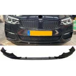 FRONTSPOILER LIP GLOSSY BLACK KOMPATIBEL MIT BMW 5 SERIE G30 UND G31