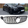 FRONT GRILL CHROME COMPATIBLE WITH MERCEDES-BENZ C 63 AMG (S) W205 FRONTCAM