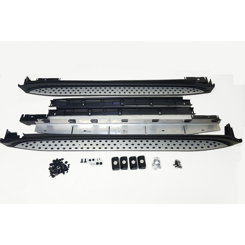 SIDE STEPS RUNNING BOARDS COMPATIBLE WITH MERCEDES-BENZ W164 ML