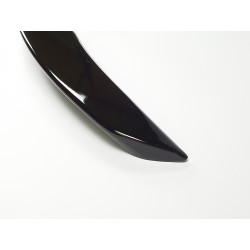 TRUNK SPOILER COMPATIBLE WITH MERCEDES-BENZ E CLASS COUPE C238 GLOSS BLACK