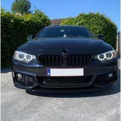 GRILL KIDNEYS DUAL SLAT GLOSSY BLACK COMPATIBLE WITH BMW F32 F33 F36 F80 F82