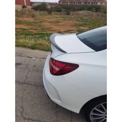 TRUNK SPOILER COMPATIBLE WITH MERCEDES-BENZ C118 CLA COUPE GLOSS BLACK