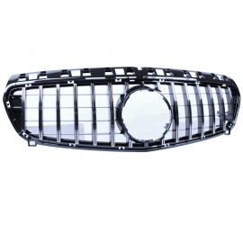 FRONT GRILL COMPATIBLE WITH MERCEDES-BENZ W176 A-KLASSE CHROME