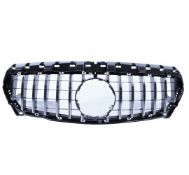 GRILL COMPATIBLE WITH MERCEDES-BENZ W117 CLA-CLASS CHROME