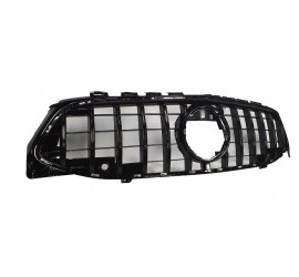 GRILL COMPATIBLE WITH MERCEDES-BENZ W118 CLA CLASS GLOSSY BLACK