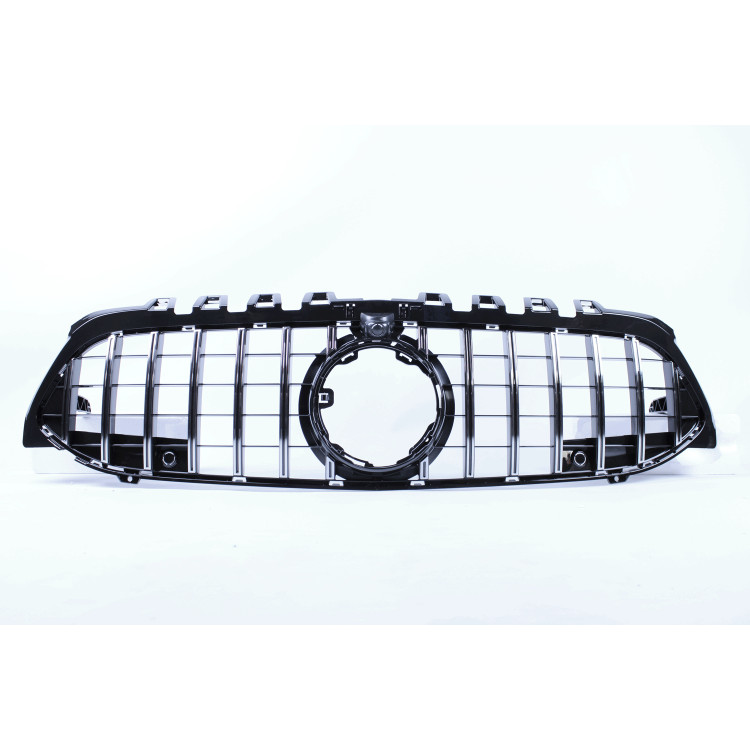 FRONT GRILL COMPATIBLE WITH MERCEDES-BENZ A CLASS W177 CHROME WITH FRONT CAMERA