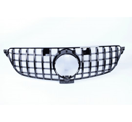 FRONT GRILL COMPATIBLE WITH MERCEDES-BENZ GLE W166 BLACK