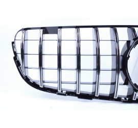 FRONT GRILL COMPATIBLE WITH MERCEDES-BENZ GLC - GLC COUPE CHROME