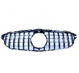 GRIL GLOSSY BLACK COMPATIBIL CU MERCEDES-BENZ CLASA C W205 - ECHIPAMENT CAMERA 360 °