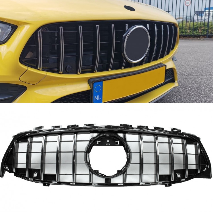 GRILL COMPATIBLE WITH MERCEDES-BENZ W118 CLA-CLASS CHROME