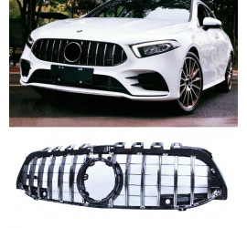 FRONT GRILL COMPATIBLE WITH MERCEDES-BENZ A CLASS W177 CHROME